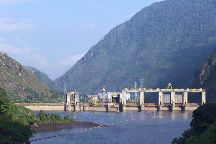 Dam, Ecuador.