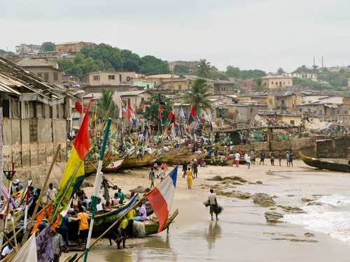 A eulogy in Chicago and a ribbon cutting in Ghana