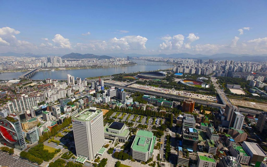 Part of Gangnam area