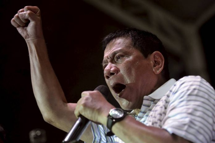 Duterte Lashes Out at United States Again, Defends Death Squads