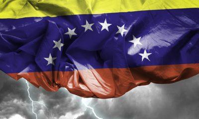 Venezuela, market, flag