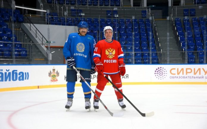 Did Playing Hockey With Medvedev Get Kazakhstan's PM Fired? 4