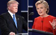 US trump clinton debate