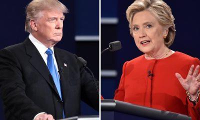 US trump clinton debate
