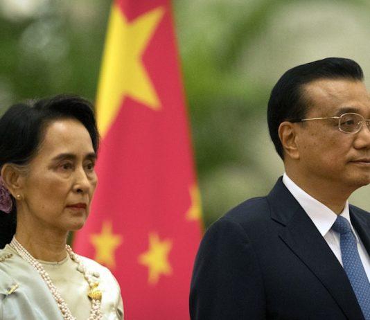 China, Myanmar