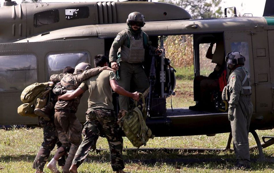 Seven Duterte's security personnel injured in southern Philippine ambush