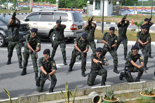 Malaysia's Elite Tiger Platoon Kills Region's Terrorist Commander