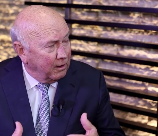 Interview: Former South African President, F.W. De Klerk 1