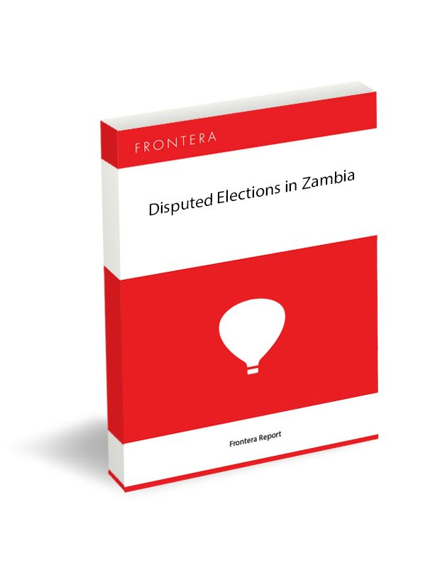 Disputed Elections in Zambia 33