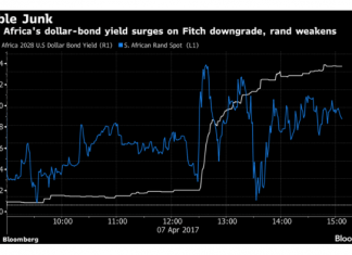 A Downgrade In South Africa Pushes the Country Out of Global Bond Indices 1