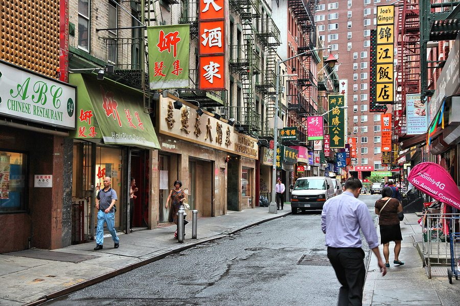 The Split At Heart Of Chinese America Frontera