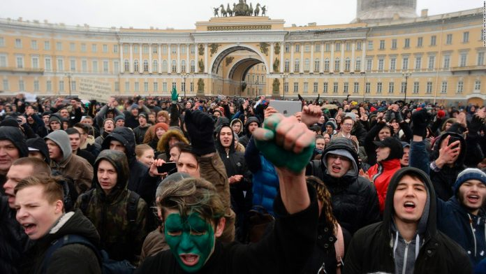 National Protests In Russia: Harbinger Of A Real Risk To Putin's Government?