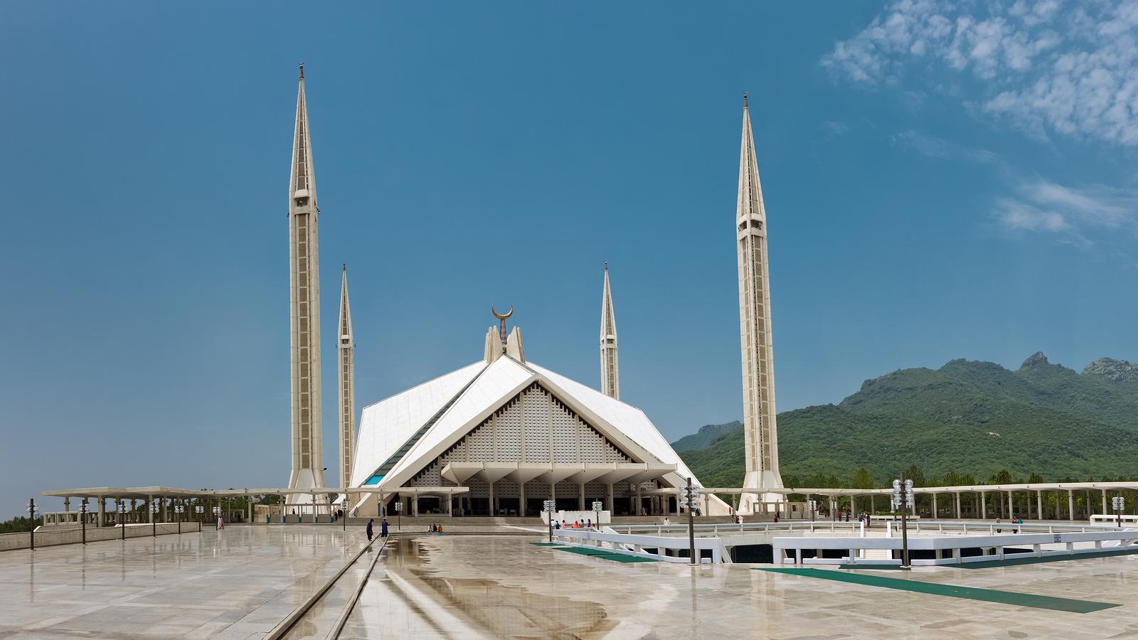 Faisal Mosque Islamabad Pakistan Frontera
